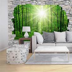 fototapete wald 3d 3d fototapete papiertapete forest mauer wall de