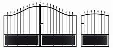 portail en fer gladys 3 50m noir portillon oogarden