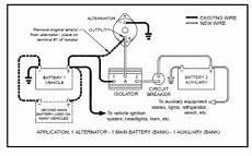 wiring diagram for battery isolator etrailer com