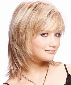 25 modern medium length haircuts with bangs layers for thick hair faces 2014