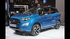 iaa 2017 sitzprobe im neuen ford ecosport
