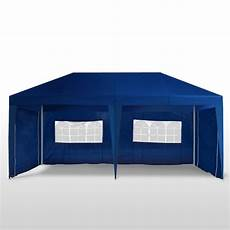 partyzelt 6 x 3 x 2 7 m blau shop gonser