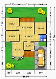 Gambar Denah Rumah Minimalis Type 70 1 Lantai Contoh