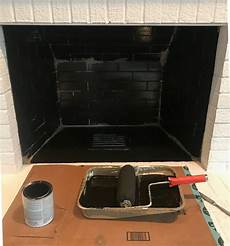 how to paint the inside of a fireplace sarah joy blog