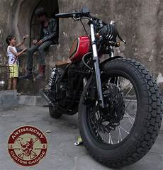 Bengkel Motor Custom japstyle project scorpio by artnarchy custom garage
