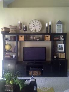 Decorating Ideas Top Of Entertainment Center by Entertainment Center Decorating Homemaking