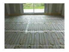 poser un plancher chauffant électrique le plancher chauffant conseils thermiques