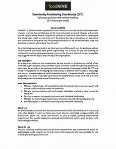 cover letter charity job sle cover letter for a volunteer position