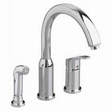 american standard hton kitchen faucet american standard 4101 301 002 arch kitchen faucet with handsprayer available in various colors