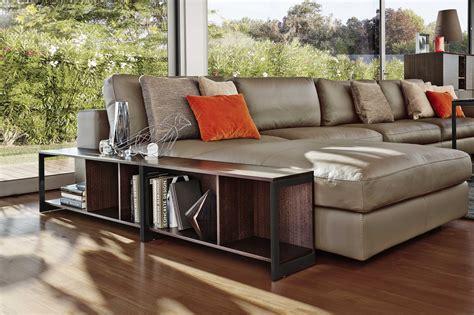 Modular Leather Sofa With Chaise Longue Urban