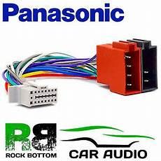 Panasonic Cq Rdp003n Model 16 Pin Car Stereo Radio Iso