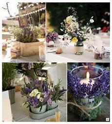 lavande pour mariage decoration mariage provence centre de table caisse en bois