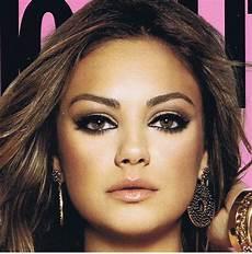Mila Kunis Augen An Eye Makeup Addicts Eotd Mila Kunis Cosmopolitan