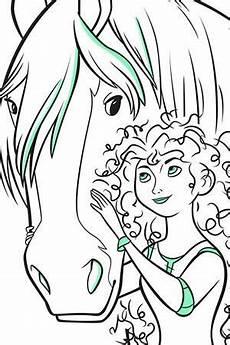 Ausmalbilder Rapunzel Malvorlagen Junior Ausmalbild Merida Und Angus Ausmalen Ausmalbilder