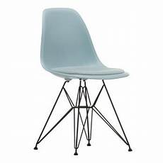 Eames Plastic Chair - vitra eames plastic side chair dsr upholsterd ambientedirect