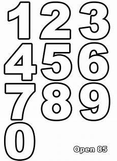 Malvorlagen Zahlen Kostenlos Ausdrucken Ausmalen Nummern Ausmalbilder F 252 R Kinder Molde De