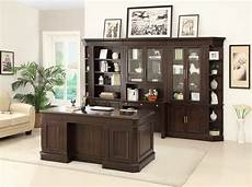 home office furniture wall units the stanford bookcase wall unit with executive desk by
