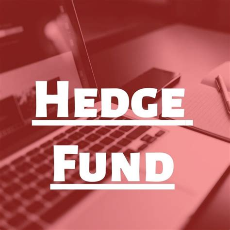 What Do Hedge Funds Do