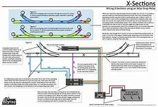ho track switch wiring how to wire an x section using an atlas snap relay and existing remote switch machine wiring