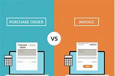 what is the difference between a purchase order and an