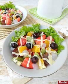 Salad Buah Segar Siram Saus Mayones Resep Resepkoki