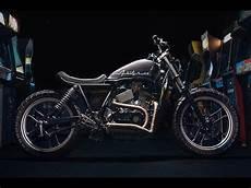 Custom Honda Vt500 By One Up Moto Garage