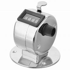 Tally Counter Stainless 2 in 1 stainless steel desktop and handheld tally counter
