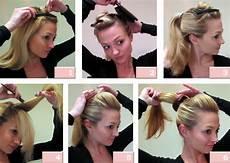 frisuren pony nach hinten stecken blondieren mit olaplex