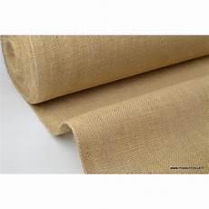 tissu toile de jute naturel tissu uni creavea
