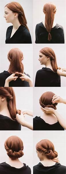 diy rolled chignon hair tutorial diy oncewed com