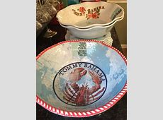 Tommy Bahama Lobster Xtra Large Serving Bowl Melamine   eBay