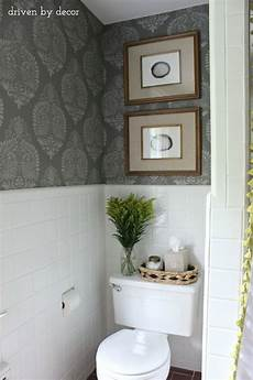 decorating ideas for bathroom walls our stenciled bathroom budget makeover reveal driven by decor