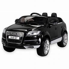 Audi Q7 Voiture 233 Lectrique Enfant 12 Volts Noir Avec