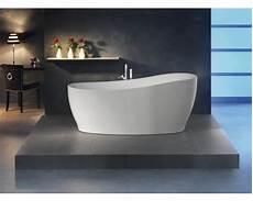 Freistehende Badewanne Einbauen - freistehende badewanne sempre 180x85 cm wei 223 inkl ab und