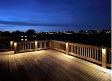 aussenbeleuchtung terrasse led cool deck lighting for the home outdoor deck