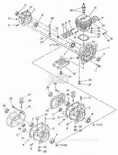 Subaru Cylinder Diagram by Robin Subaru Ec06 Parts Diagram For Crankcase Cylinder