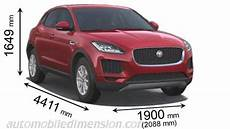 dimensions of jaguar f pace 2018 jaguar e pace 2018 dimensions boot space and interior
