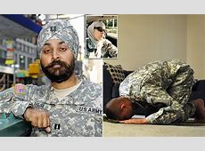 US Army leads the way on beards and turbans for Muslim and