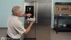Kitchenaid Refrigerator Troubleshooting Water Dispenser by Refrigerator And Icemaker Repair Replacing The Solenoid