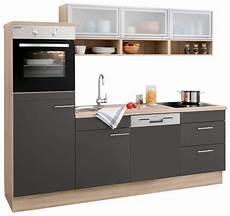 Küchenzeile 240 Cm Breit - optifit k 252 chenzeile ohne e ger 228 te 187 aue 171 breite 240 cm