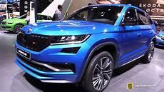 2020 skoda kodiaq rs exterior and interior walkaround