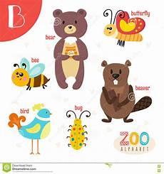 animal en g 30218 letra b animales lindos animales divertidos de la historieta en vector ilustraci 243 n vector