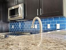 Install Glass Tile Backsplash
