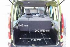 renault kangoo kofferraum adac auto test renault kangoo 1 6 16v edition cus
