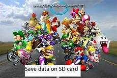 Save On Sd Card For Mario Kart Wii 100 File