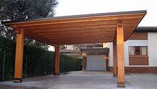 tettoia legno una tettoia in legno lamellare soluzione pratica e