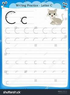 kindergarten handwriting worksheets letter c 24056 writing practice letter c printable worksheet for preschool kindergarten to improve basic