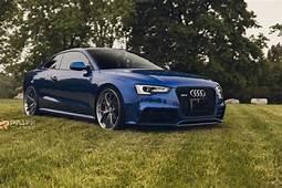 Custom Audi  RS5 In Sepang Blue Is Sheer