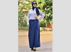 Looking Skirt Woman Hijab Pants blue hijab ? New, Modern