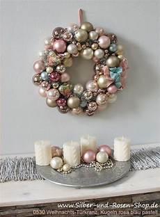 türkranz weihnachten kugeln t 252 rkranz weihnachten kugeln marble pink gro 223